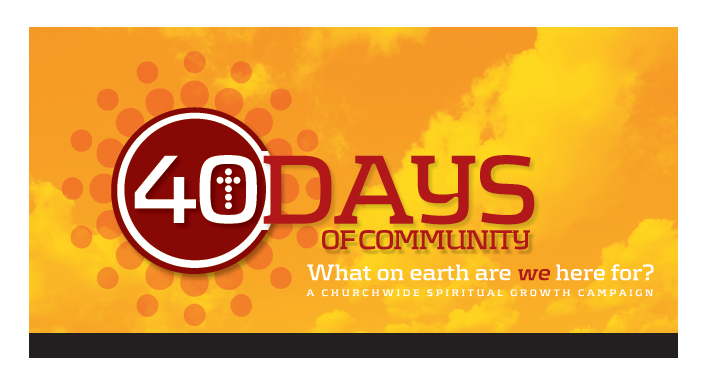 40 days purpose driven life pdf